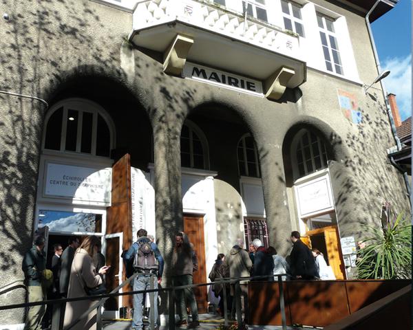 La sede del Centre du Graphisme a Échirolles